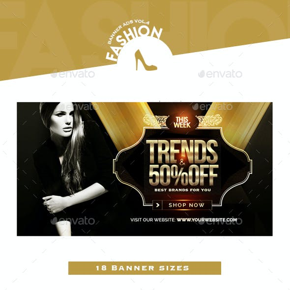 Fashion Banner Ads Vol.4