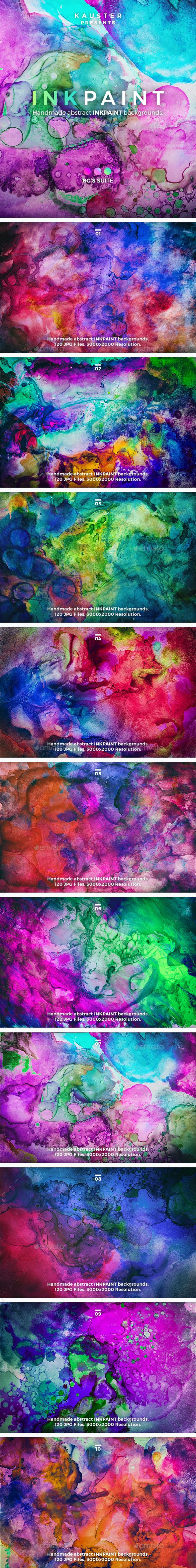 Inkpaint Backgrounds - Abstract Backgrounds