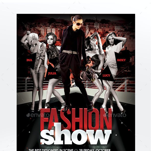 Fashion Show Flyer Template - Vol 2