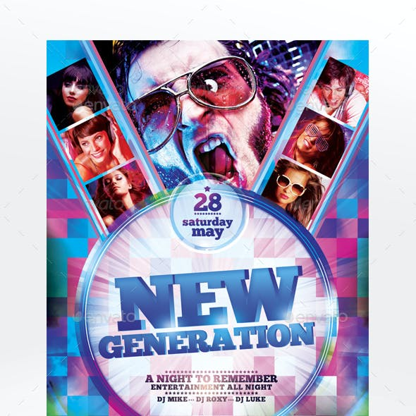 New Generation Flyer Template