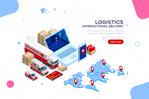 Logistic International Delivery - Concepts Business