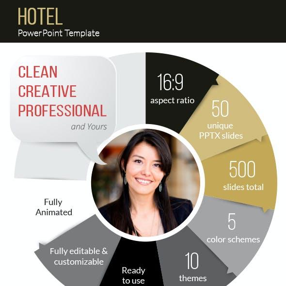 Hotel California PowerPoint Presentation Template