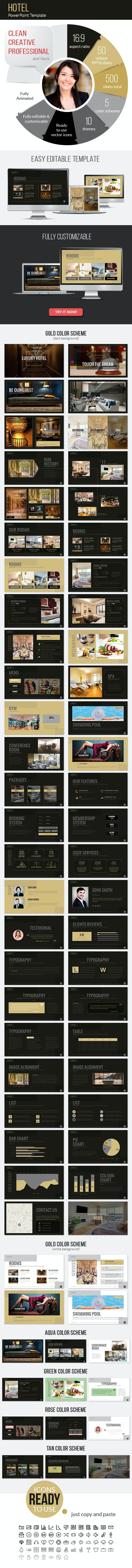 Hotel California PowerPoint Presentation Template - Business PowerPoint Templates