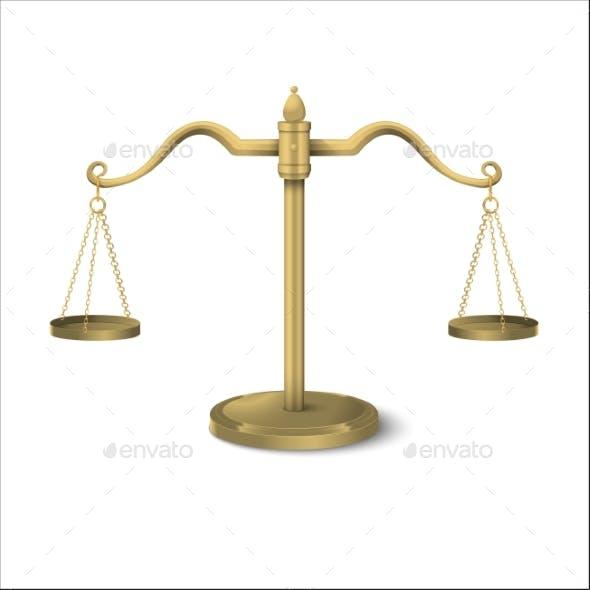 Equilibrium Scales Gradient