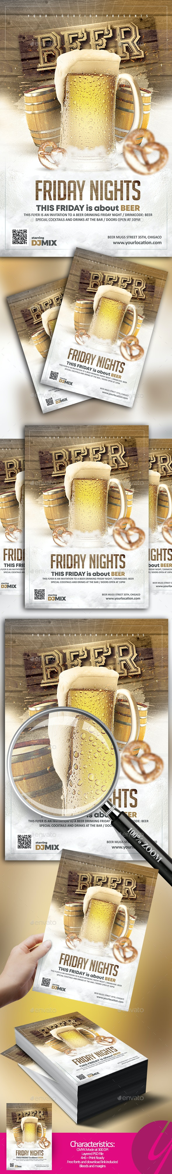 Beer Friday Nights - Clubs & Parties Events