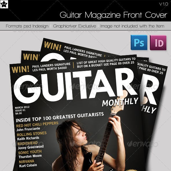 Guitar Magazine front cover