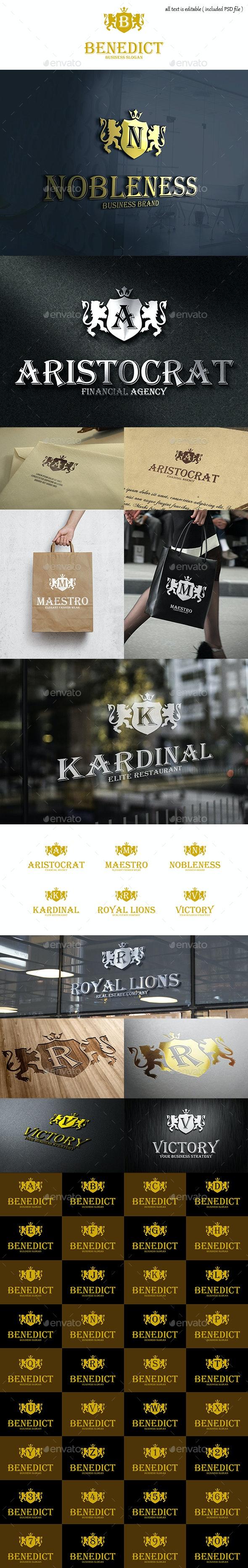 Heraldic Crest Elegant Multipurpose Logo Template