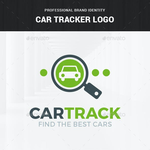 Car Tracker Logo Template