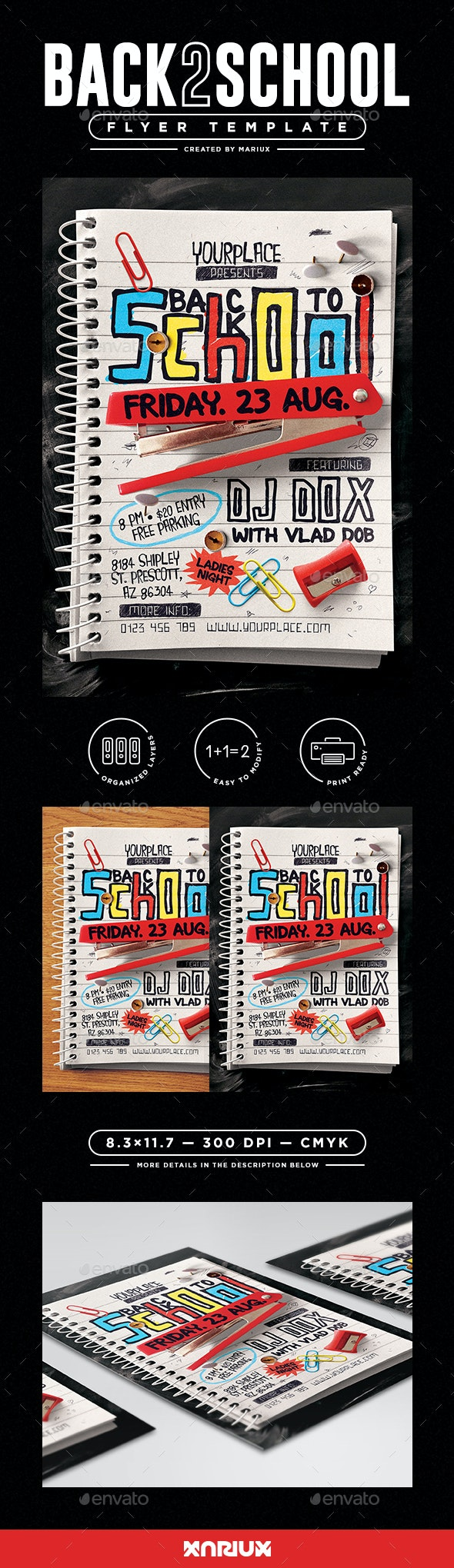 Back to School Flyer - Events Flyers