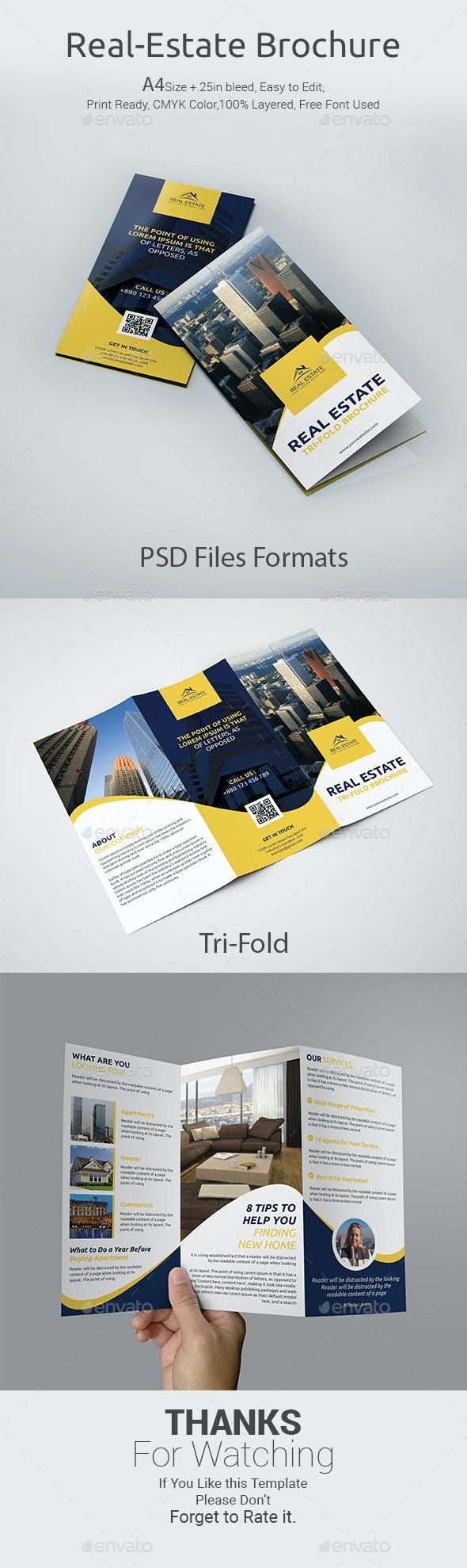 Real Estate Tri-Fold Brochure - Corporate Brochures