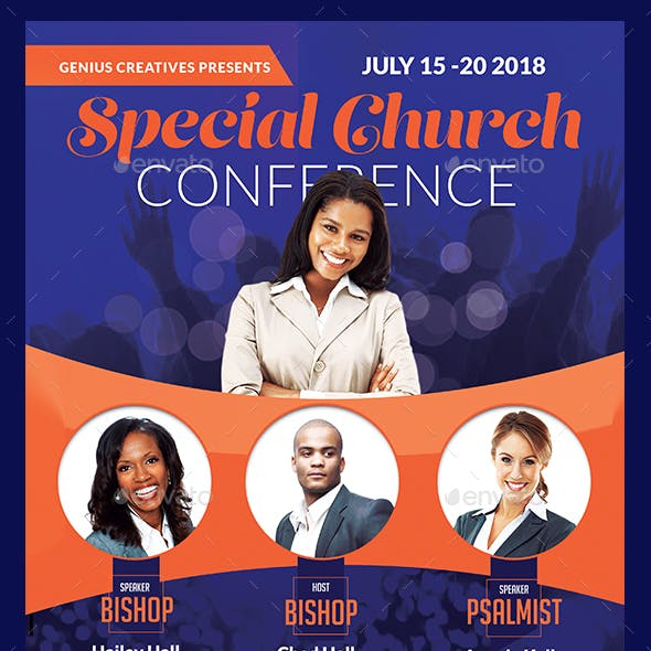 Special Church Conference Flyer