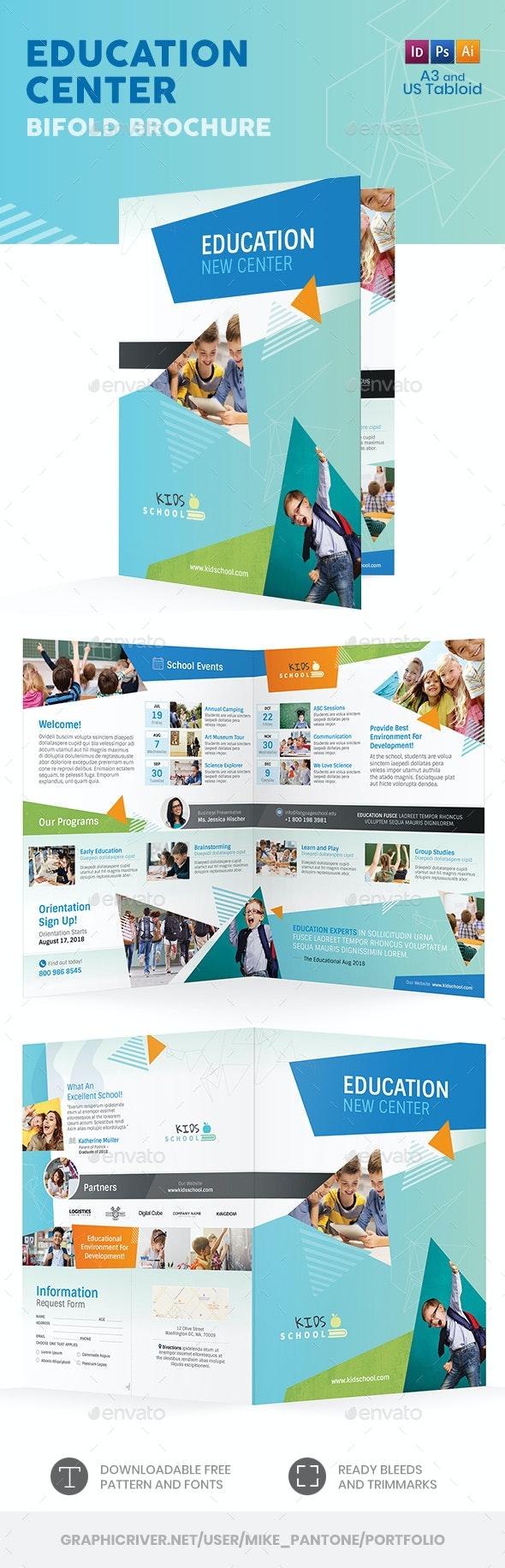 Education Bifold / Halffold Brochure 11 - Informational Brochures
