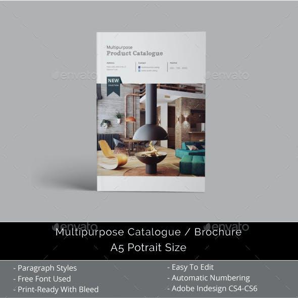 A5 Multipurpose Catalogs / Brochure Template