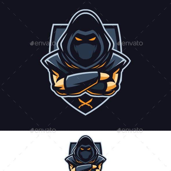 Assassin Badge Vector