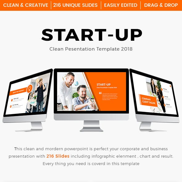 Business Start-Up Clean Keynote Template 2018