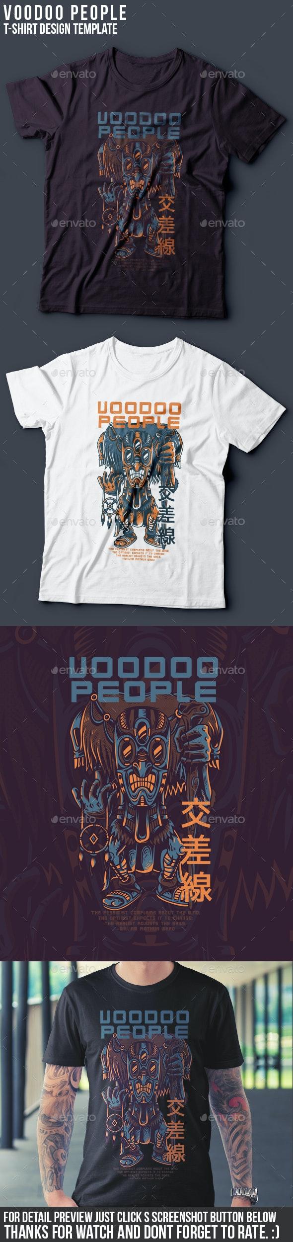 Voodoo People T-Shirt Design - Sports & Teams T-Shirts