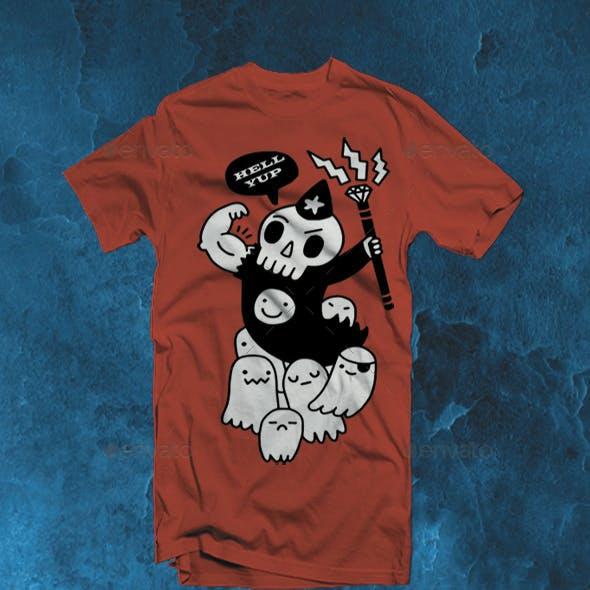 Super Duper Necromancer2 Design T-Shirt