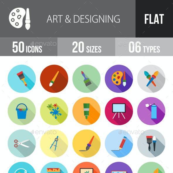 Art & Designing Flat Shadowed Icons