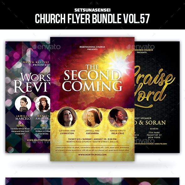 Church Flyer Bundle Vol.57