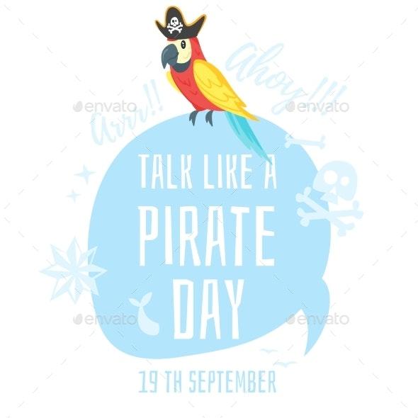 Talk Like a Pirate - Miscellaneous Vectors