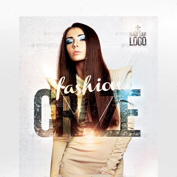 Fashion Craze Flyer Template