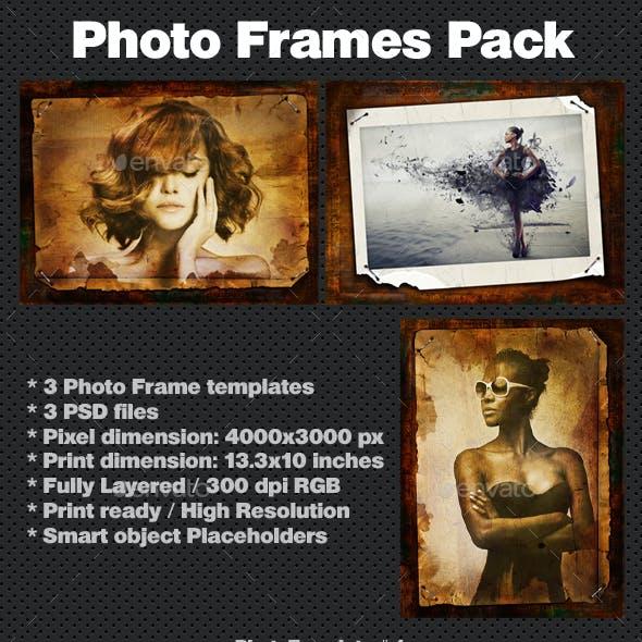 Premium Vintage Photo Frames Pack