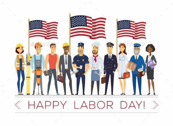 Happy Labor Day - Miscellaneous Seasons/Holidays