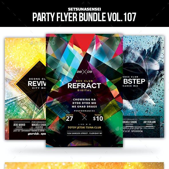Party Flyer Bundle Vol.107