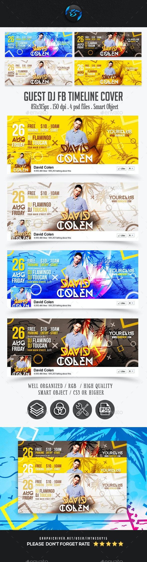 Guest DJ FB Timeline Covers - Facebook Timeline Covers Social Media