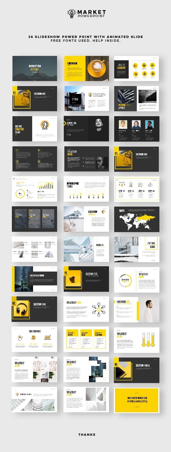 Simple Presentation - PowerPoint Templates Presentation Templates
