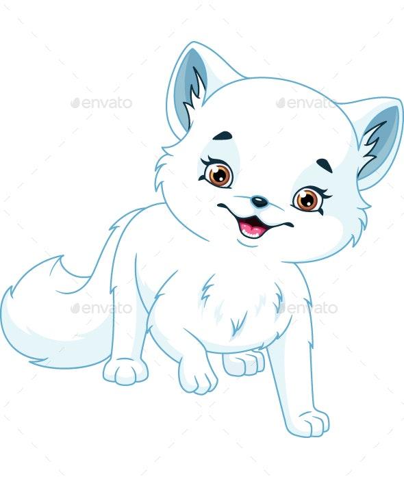 Arctic Fox - Animals Characters