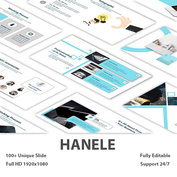 Hanele Creative PowePoint Template