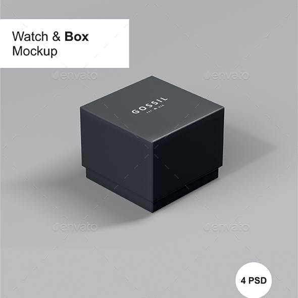 Watch Box Mock-up