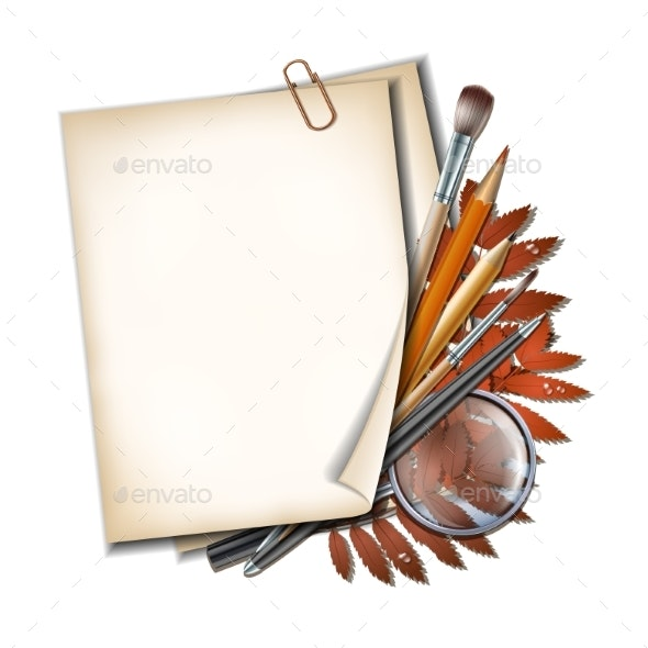 Welcome Back To School Background - Miscellaneous Vectors