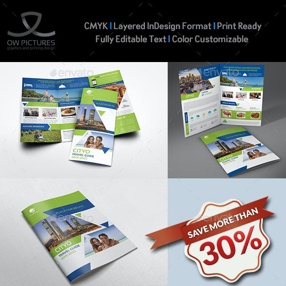 Travel Guide Brochure Bundle Template