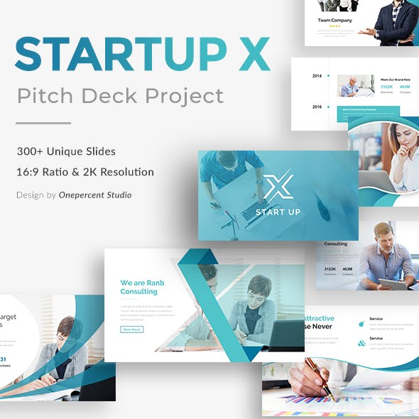 Startup X Pitch Deck Google Slide Template