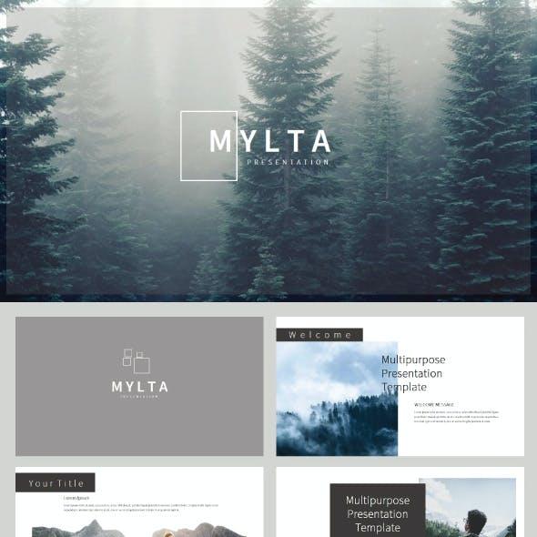 Mylta Google Slide Presentation