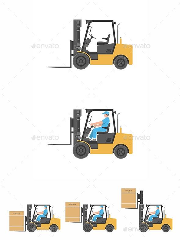 Forklift Truck - Industries Business