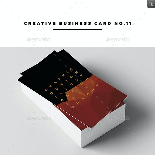 Creative Business Card No.11