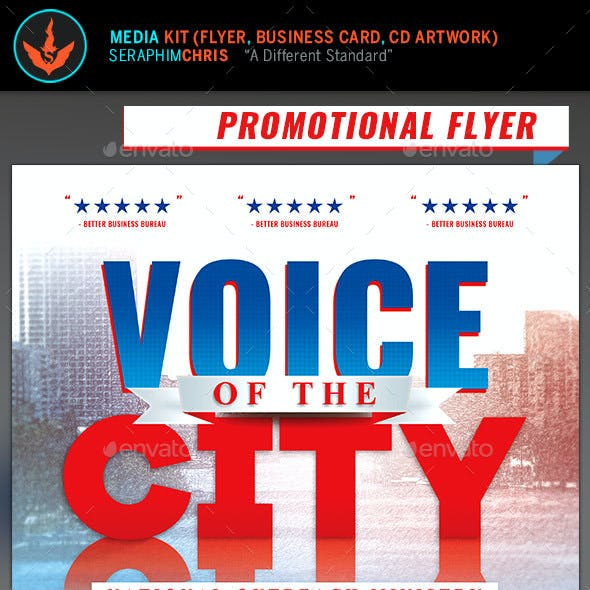 Voice of The City Church Charity Media Kit