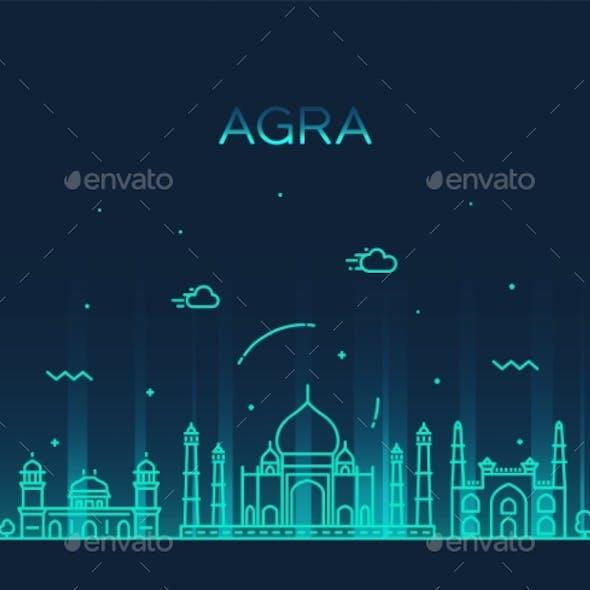 Agra Skyline India