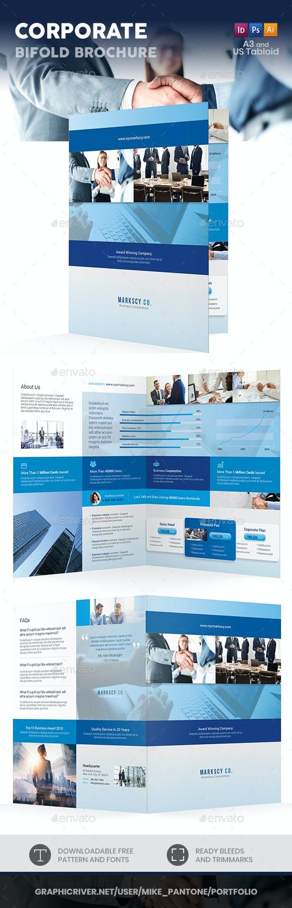 Corporate Bifold / Halffold Brochure 6 - Corporate Brochures