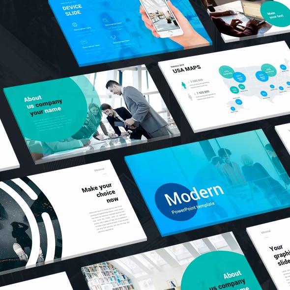 Modern Infographics Keynote Template