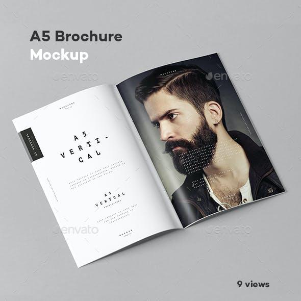 A5 Brochure Mock-up