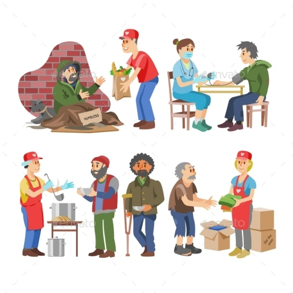 Charity Vectors - People Characters