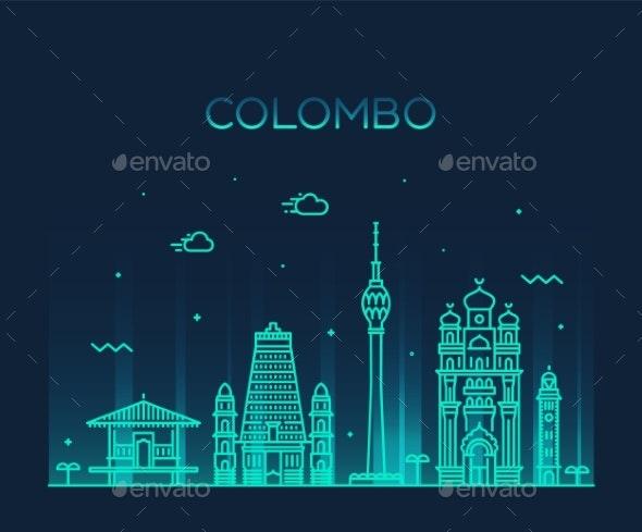 Colombo Skyline - Buildings Objects