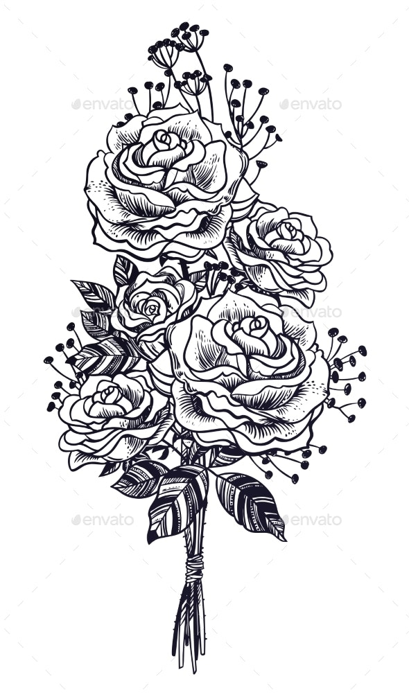 Wild Field Rose Summer Flowers - Flowers & Plants Nature