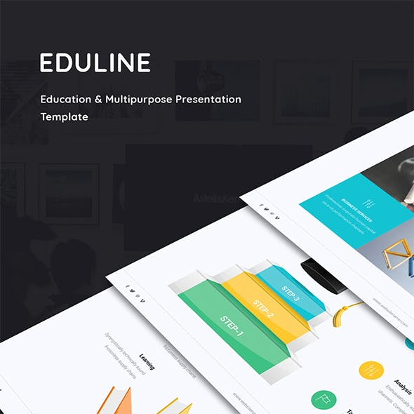 Eduline - Education & Multipurpose Template (Powerpoint)