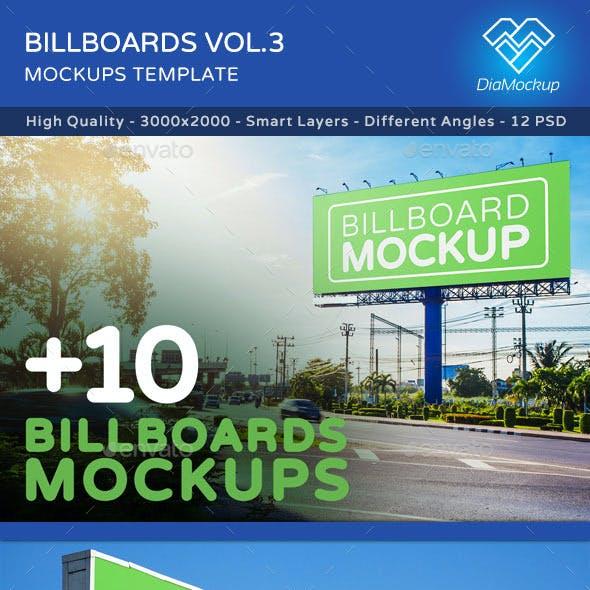 Billboards Mock ups Vol.3