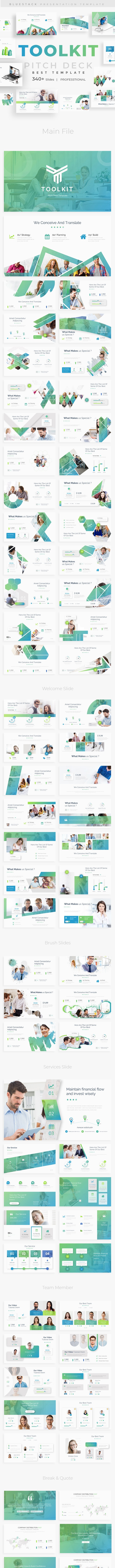 ToolKit Pitch Deck Google Slide Template - Google Slides Presentation Templates